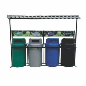 puntos ecologicos reciclajes canecas