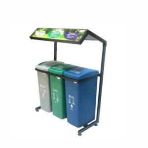 Tienda Soga puntos ecologicos reciclaje